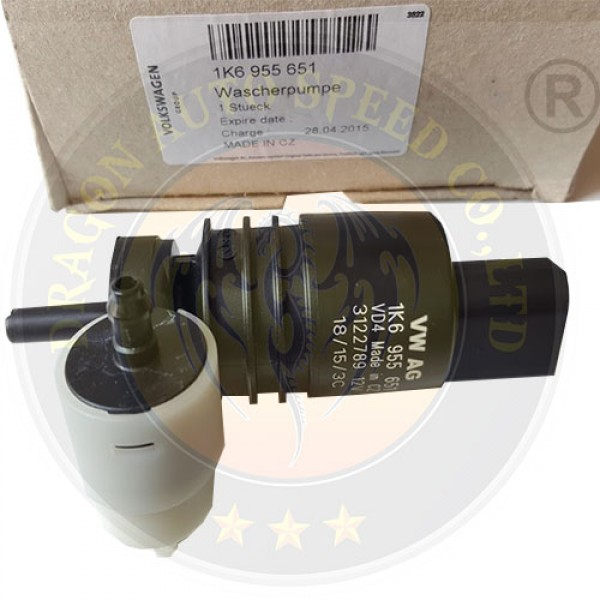 Bơm nước rửa kính Audi A3 A4 Q5 Q7 Porche Cayenne 1K6955651