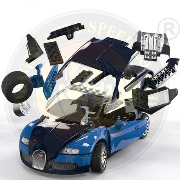 Phuộc nhún Bugatti Veyron